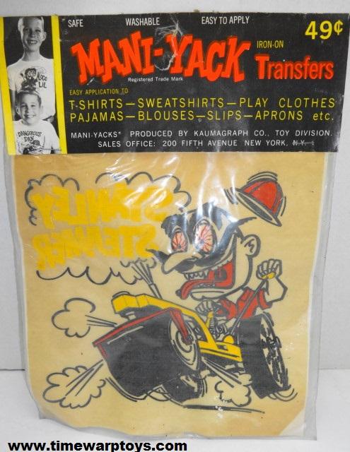 Mani-Yack Iron On Transfer 1963 Kaumagraph Co.