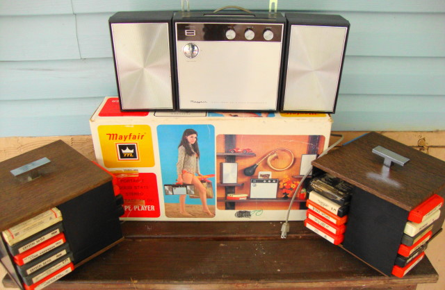 8 Track Player & Lot