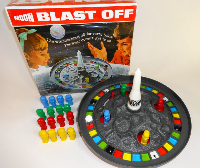 1970 Moon Blast Off Game by Schaper