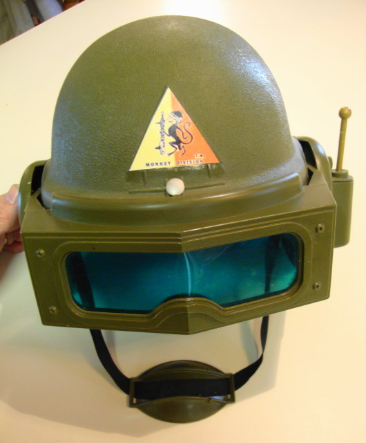 1963 Monkey Division Army Helmet by Remco