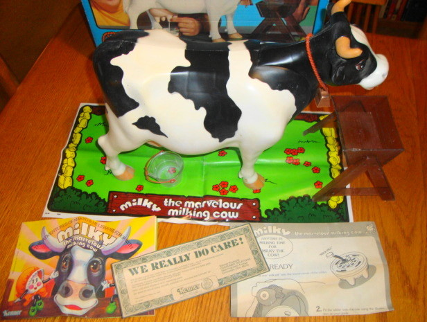 1978 Milky The Marvelous Milking Cow by Kenner