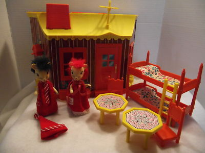 Mr. & Mrs. Mouse 1967 Remco