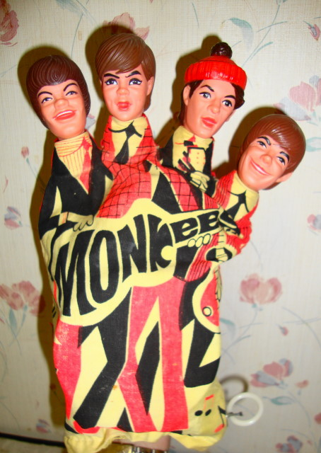 1966 Monkees Talking Hand Puppet