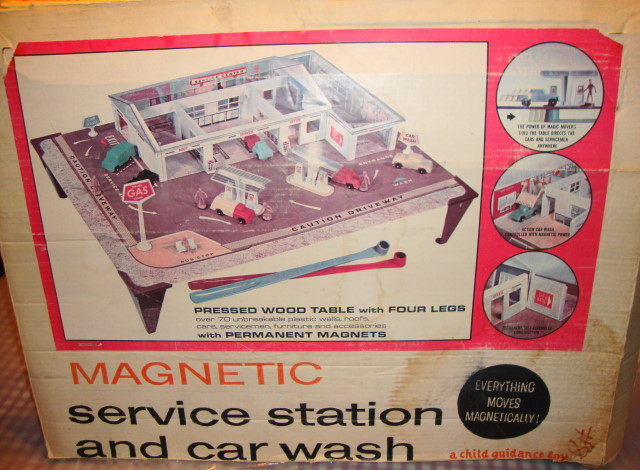 1964 Magnetic Service Station