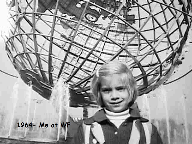 Me at the NY Worlds Fair 1964!