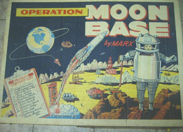 Operation Moon Base by Marx