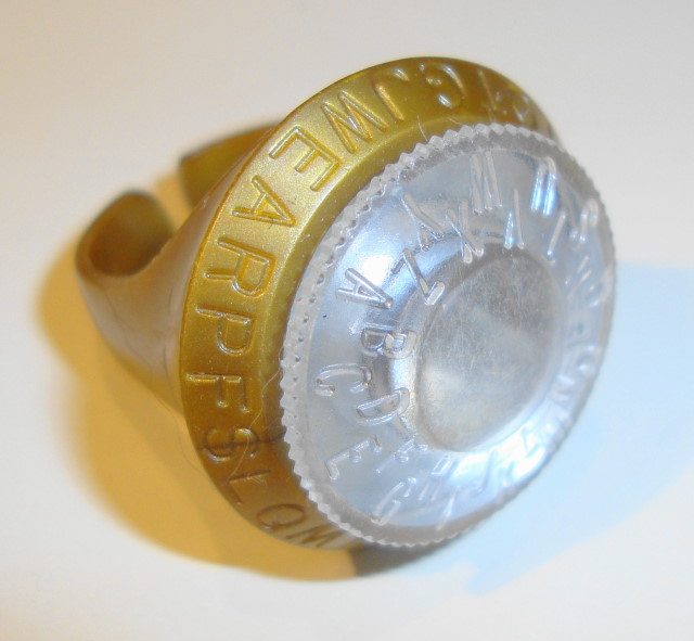 1964 Jonny Quest Magic Ring PF Flyer Premium