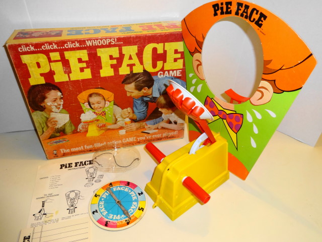1968 Pie Face Game by Hasbro - Marvin Glass