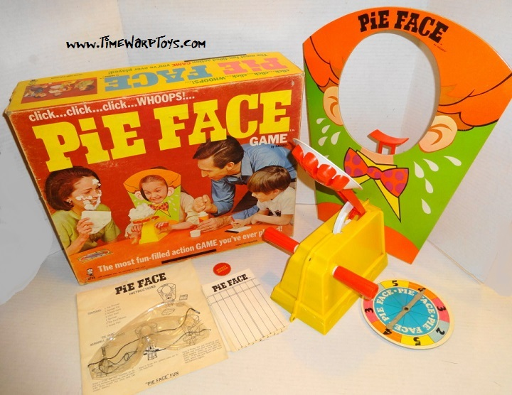 1968 Pie Face Game by Hasbro