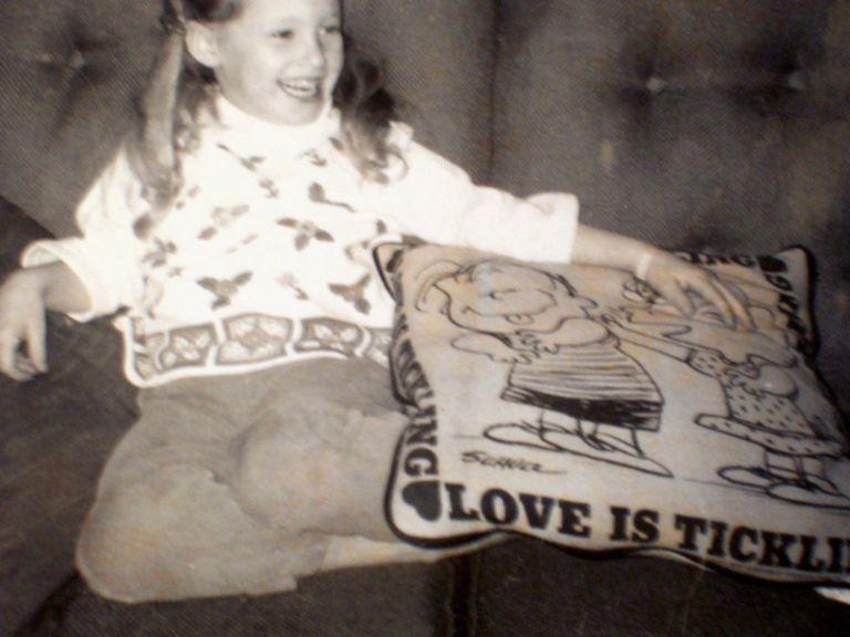 1960s Peanuts Pillow