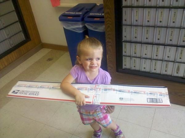 My Little Shipping Helper!