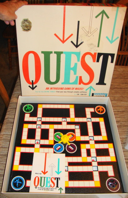 1962 Quest Game by Lakeside
