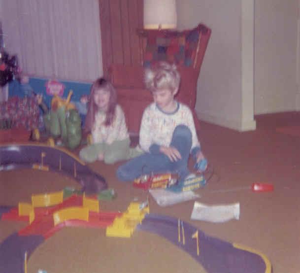 Hasbro Inchworm & Class A  Race Set 1972