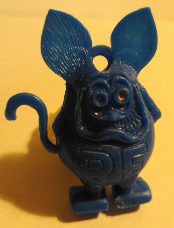 1960s Blue Rat Fink Ring
