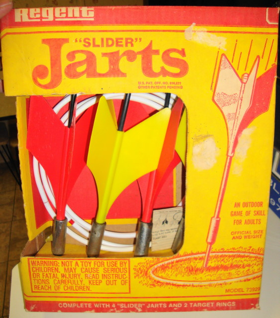 1970s Slider Jarts - Lawn Darts
