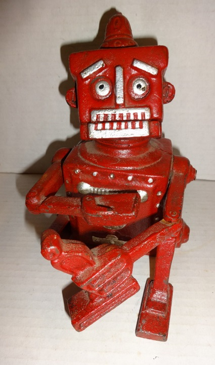 1950 Robert the Robot Mechanical Bank