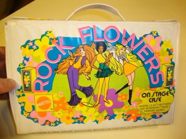 1970 Rock Flowers Case by Mattel