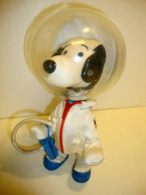 1969 Snoopy Astronaut Doll