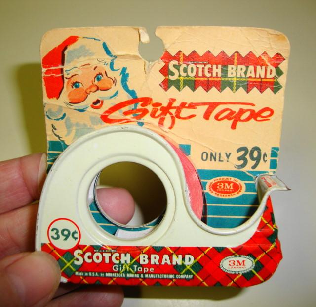 Vintage 1960s Metal Tape Dispenser