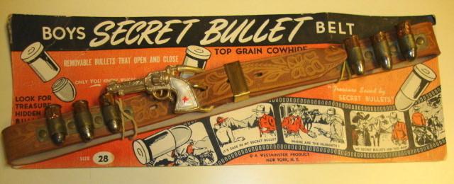 1950s Secret Bullet Belt