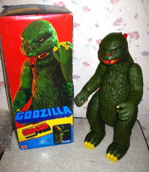 Godzilla Shogun Warriors Mattel
