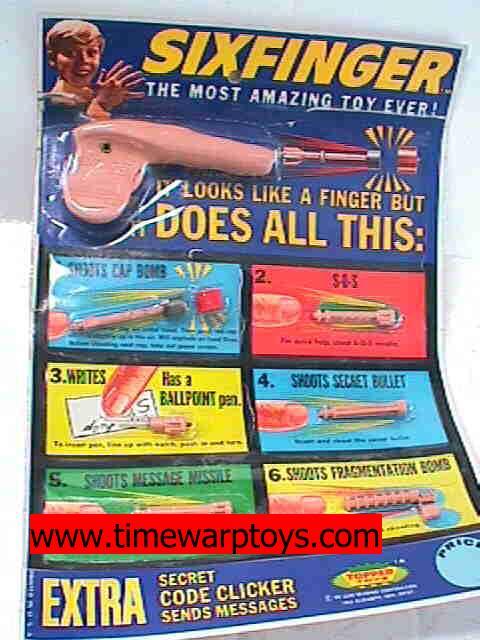 1965 Sixfinger Spy Toy