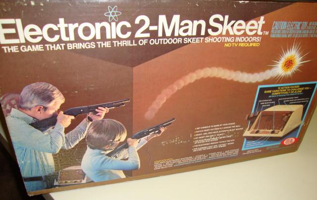 2 Man Skeet Target by Ideal 1978