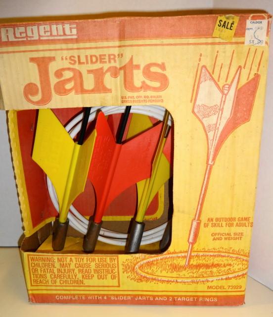 Missile Jarts - Lawn Darts