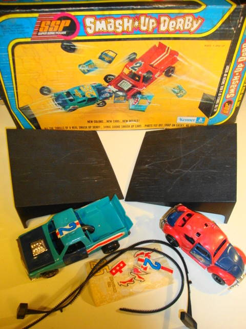 1973 SSP Smash Up Derby Set by Kenner