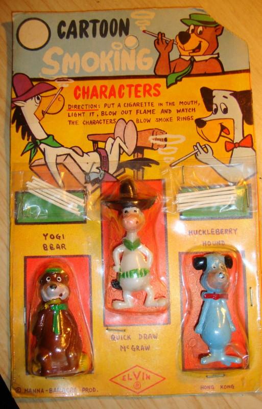 1960s Cartoon Smoking Characters