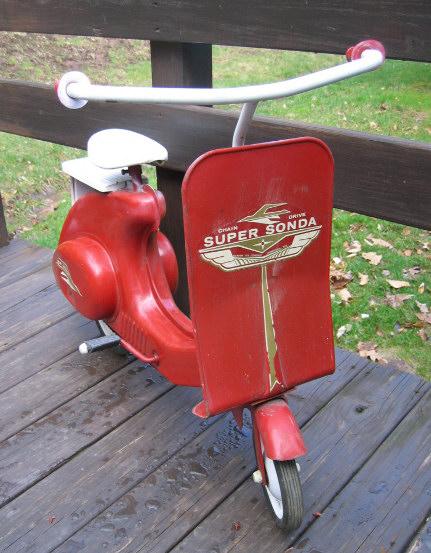 1957 Sonda Pedal Scooter