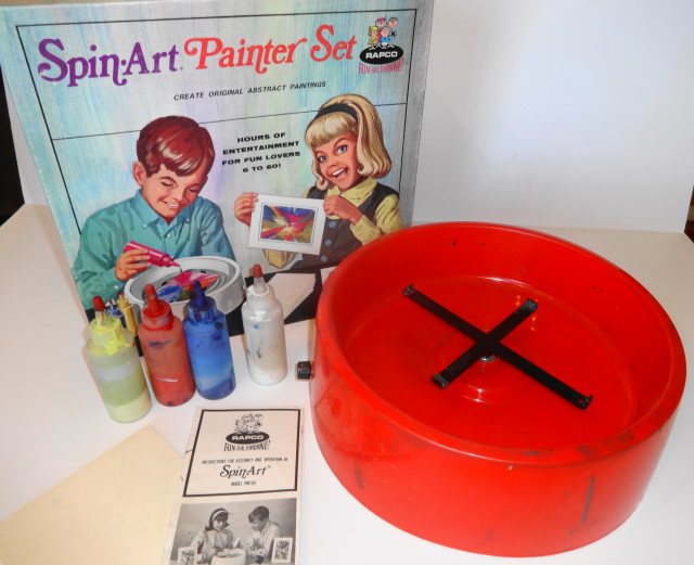 1960s Spin Art Set by Rapco
