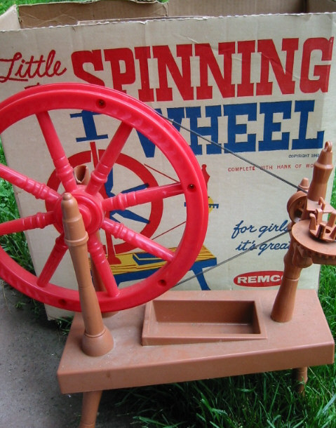 Little Red Spinning Wheel