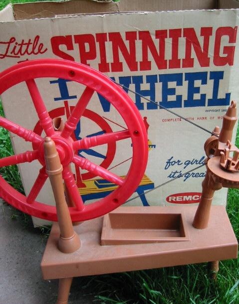 Little Red Spinning Wheel