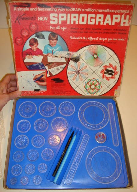 13174 Spirograph Drawing Toy By Kenner 401 All Excellent