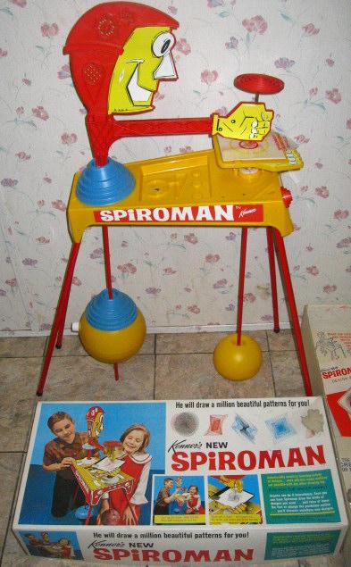 1968 Spiroman by Kenner