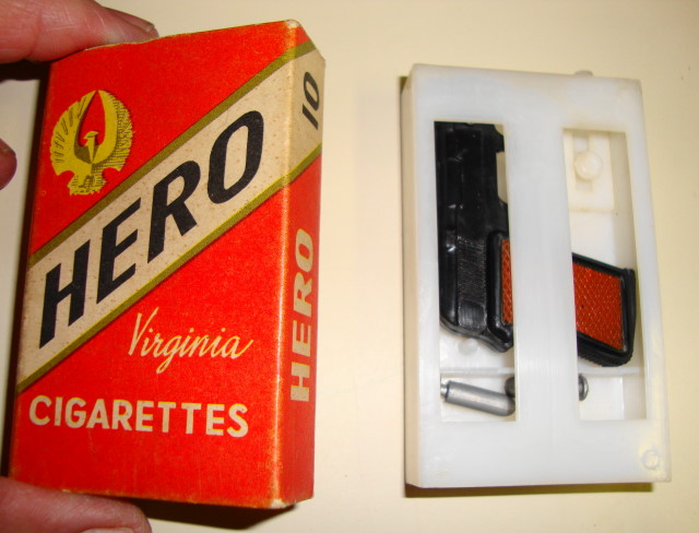 1960s Spy Cigarettes & Shooting Gun