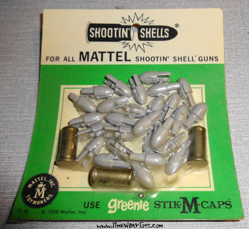 1958 Shootin Shell Bullets by Mattel