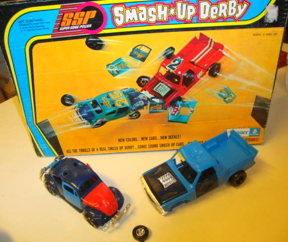 1970s SSP Race Cars by Kenner