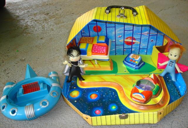 Mini Martians Star House 1967 Ideal - J. Swedlin