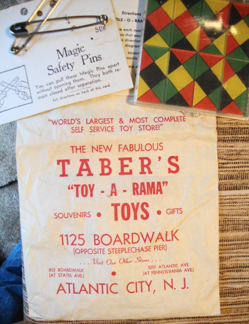 1960s Taber's Toy-A-Rama Lot