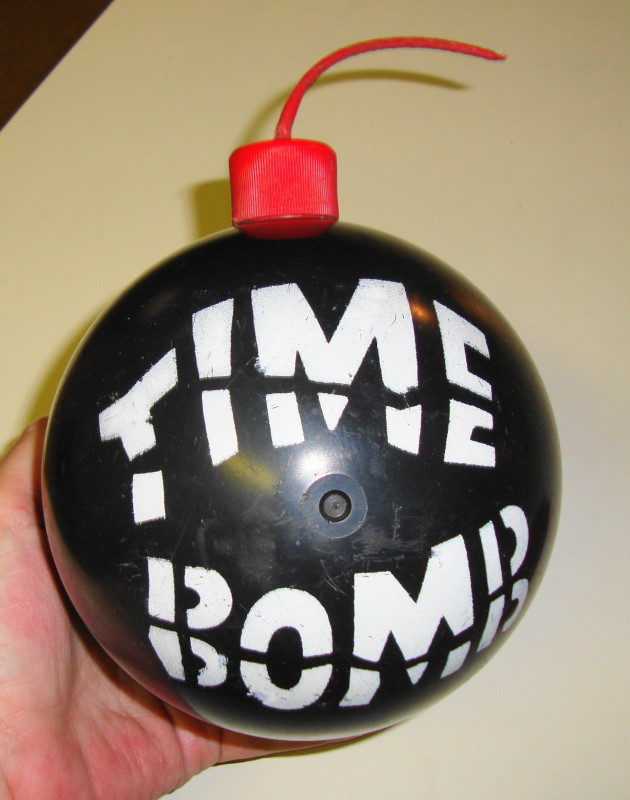 1965 Time Bomb Game by Milton Bradley