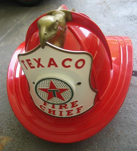 Texaco Fire Chief Helment