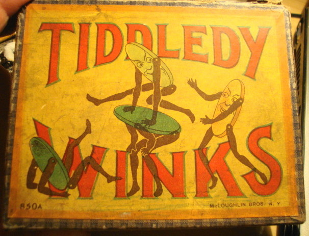 1930s Tiddledy Winks Complete!