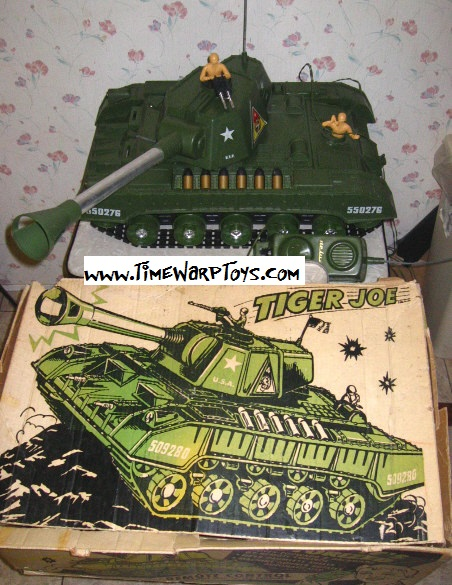 1961 Tiger Joe Tank by Deluxe Reading