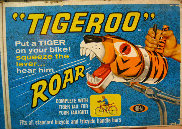 1965 Tigeroo Bike Siren by Ideal