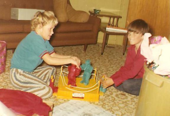 1970s Rockem Sockem Robots