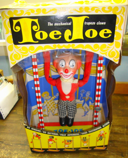 1950s Toe Joe Clown by Ohio Art