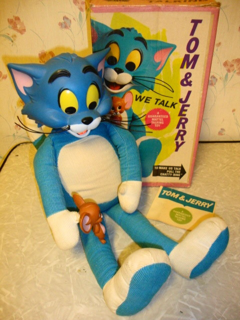 1965 Talking Tom & Jerry by Mattel