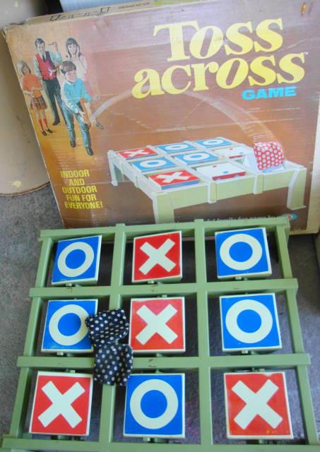 1970 Toss Across Game